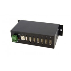 Concentrateur industriel - 7 ports USB