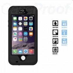 Coque iPhone 5/5s Etanche anti-choc Noire Caseproof FreeTouch ®