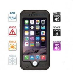 Coque iPhone 6/6s étanche & anti-choc Noire Caseproof ®