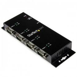 Hub série à montage mural / DIN USB vers RS232 4 ports