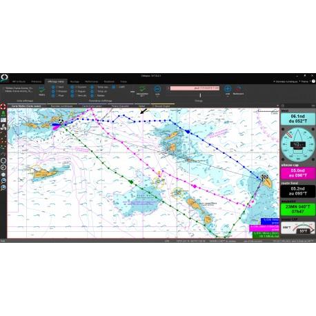 Logiciel de navigation Octopus d'Adrena : croisière et voyage