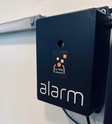 Alarme Sonore et Lumineuse développée par ROM-arrangé
